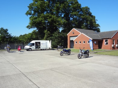 Phoenix Motorcycle Training Colchester training ground