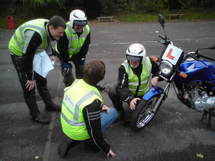 Motorcycle instructor training