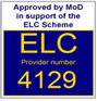 ELCAS register number 4129 Click here to go to the ELCAS web site and enter Phoenix Training Services in the search bar