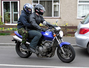 Rider and pillion