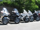 Honda ST1300 Pan European instructor motorcycles